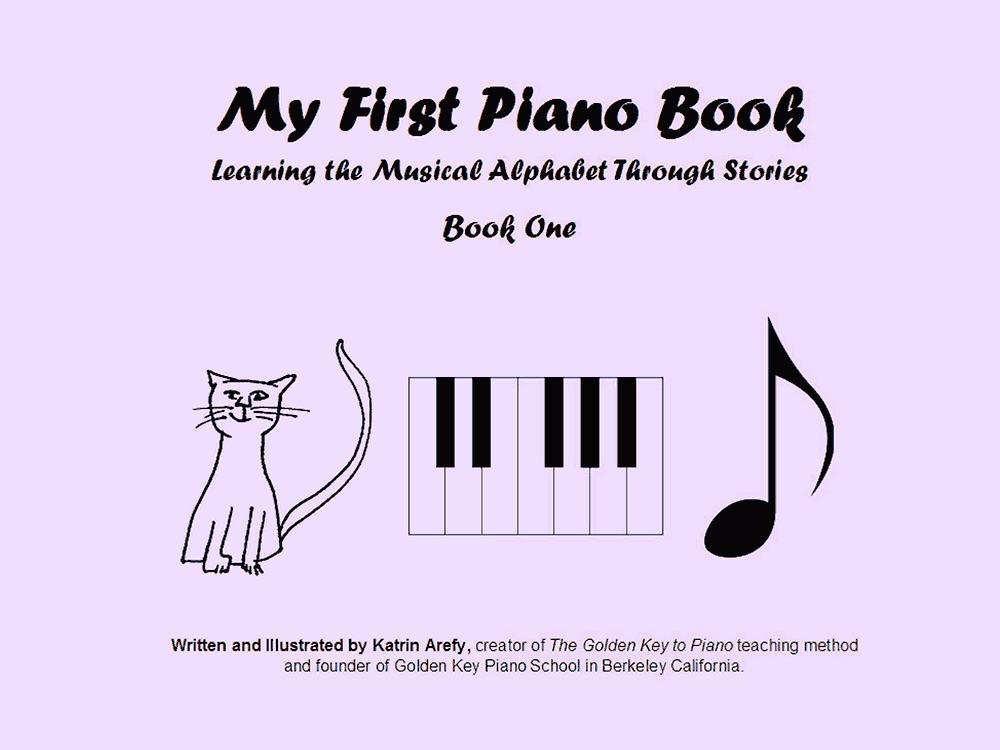 My First Piano Book vol.1 - Music school Manhattan