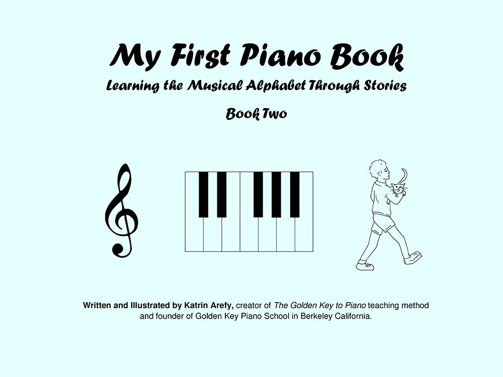 My First Piano Book vol.2 - Music school Manhattan
