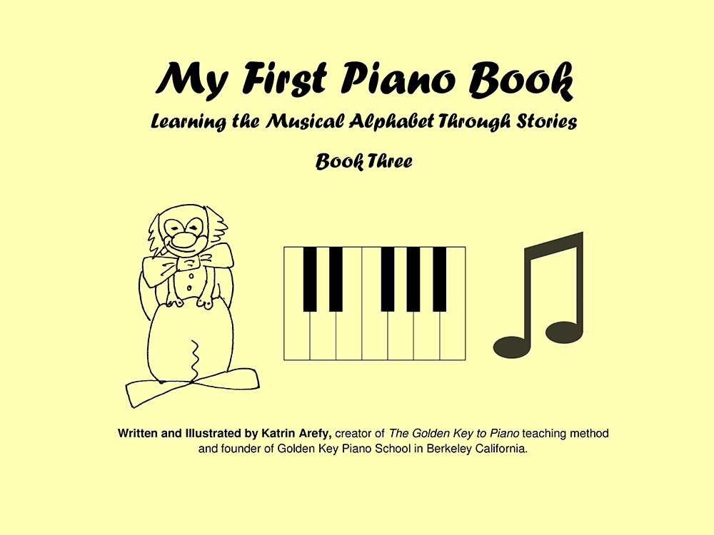 My First Piano Book vol.3 - Music school Manhattan