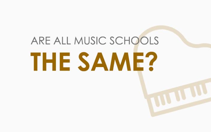 Are all music schools the same? - Music school Manhattan