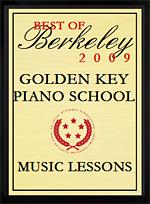 Best of Berkeley 2009 - Piano lessons Manhattan